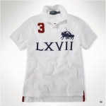Camisa Polo Branca Dual Match Ralph Lauren - Cod 0028